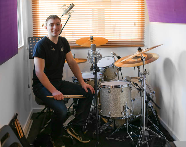 Hemel drum lessons with Chris Pusey-1-4